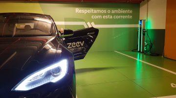 EV charging station Portugal