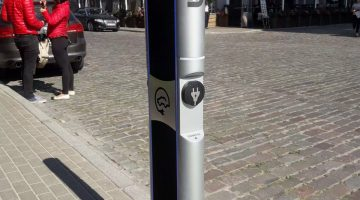 EV charging station project
