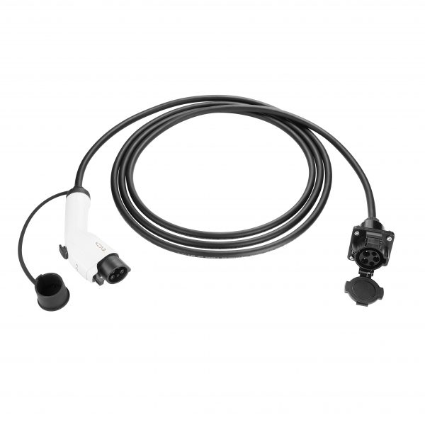 EV charging cable extender Type 1