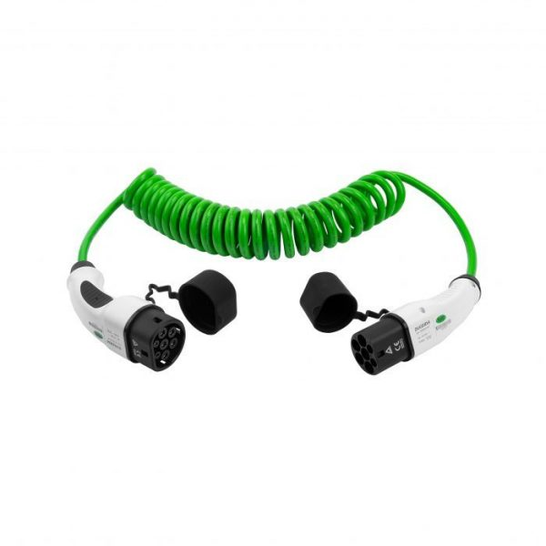 EV charging cable Type 2 to Type 2 Spiral
