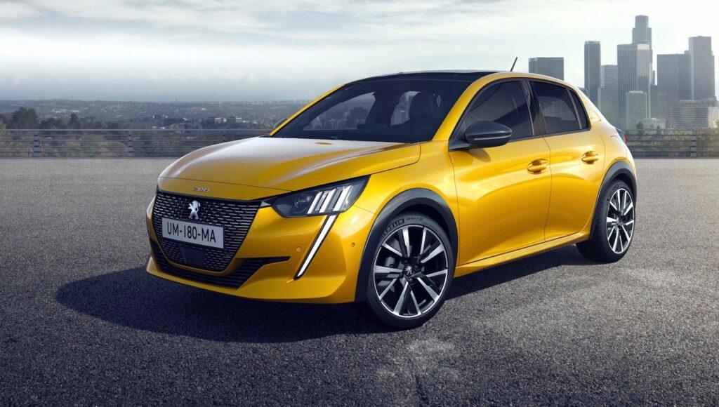 Įperkamiausias elektromobilis 2021 metais Peugeot e-208