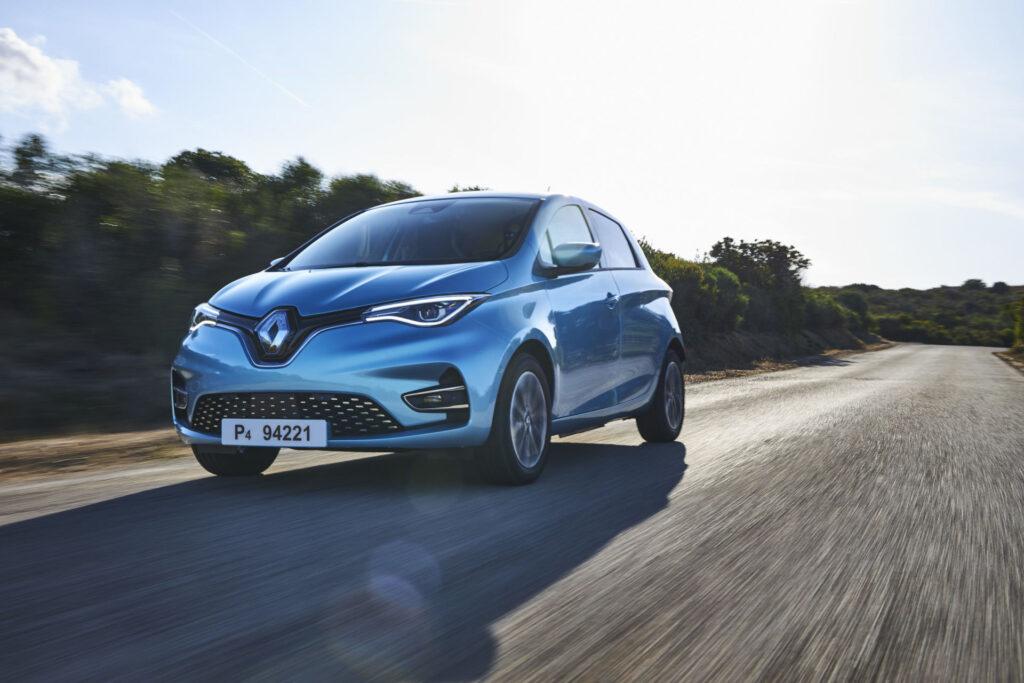 Renault Zoe įperkamiausias elektra varomas automobilis
