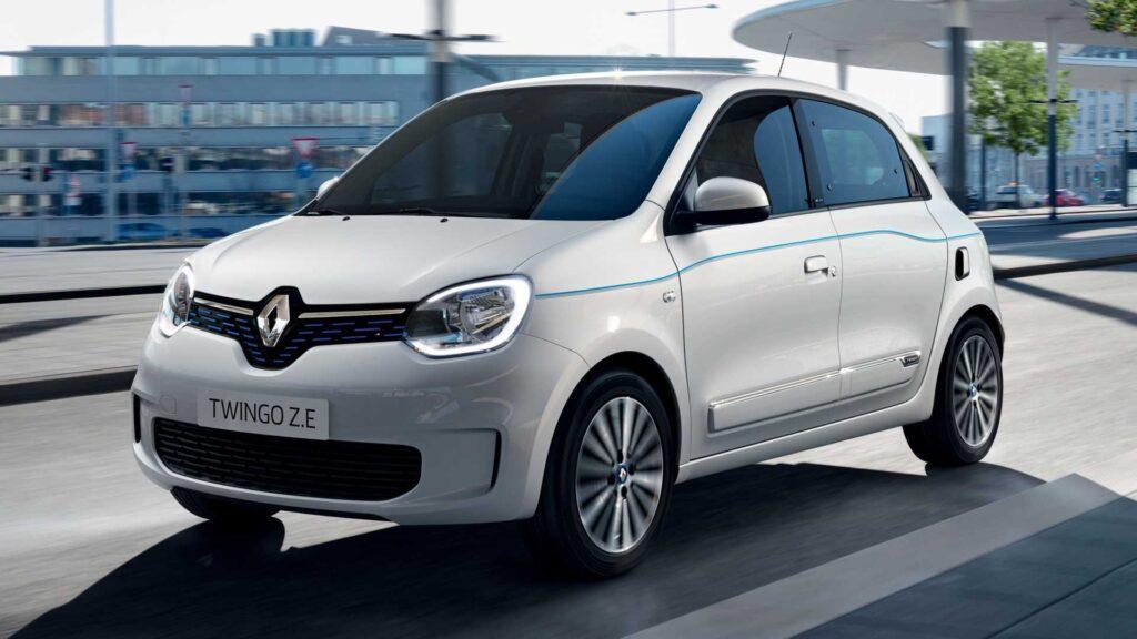 Renault Twingo Electric elektromobilis